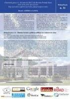 O Conselho Editorial e os Editores da Revista Prim@ Facie informam que está aberto o processo de seleção de artigos, de pesquisadores nacionais e estrangeiros para integrar o volume 16º (ano 2017).